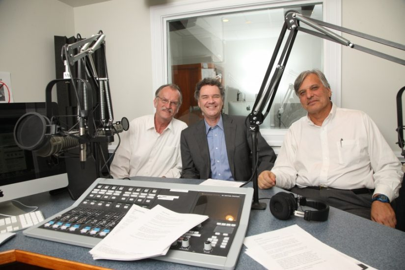 <p>The American History Guys in the studio.>