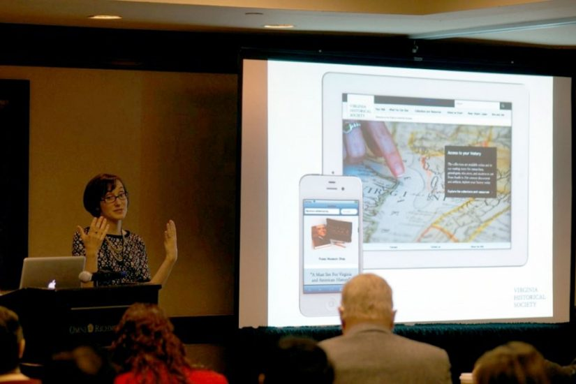 At edUi in 2013, Jennifer Nesossis went behind the scenes of the Virginia Historical Society's website redesign.
