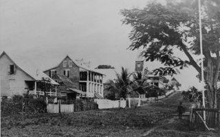 Ashmun Street in Monrovia