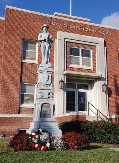 Floyd County Courthouse, Photo by Jarek Tuszynski