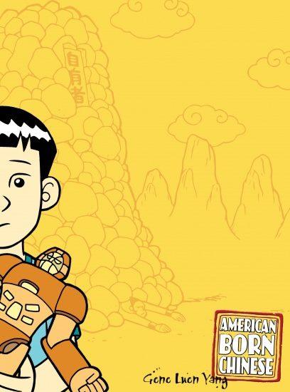 cover, American Born Chinese, by Gene Luen Yang