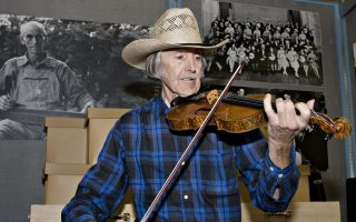 Buddy Pendleton Plays Stradivarius - Smithsonian Photo by Hugh Talman