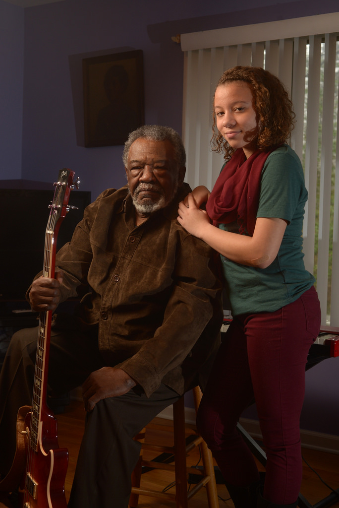 Singer Whitney Nelson is apprenticing under Sherman Holmes of the Holmes Brothers to learn more about blues and gospel singing.