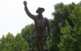 """Doughboy"" statue - Petersburg"