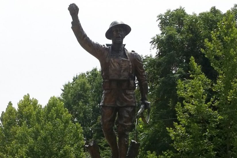 """Doughboy"" statue - Petersburg"