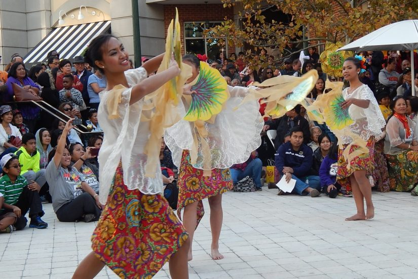 With VFH grant support, Filipino dance traditions will be represented at the 2017 Local Colors Festival in Roanoke, along with traditions from Mexico (Veracruz) and Cuba.  Photo by Arnel Custodio.