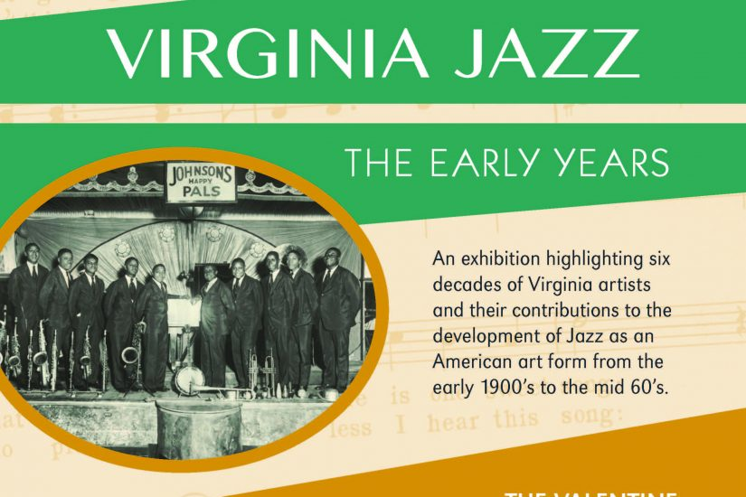 Richmond Jazz Society presents an historic exhibition - VIRGINIA JAZZ: The Early Years