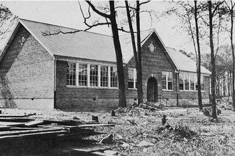 The Cape Charles Elementary Rosenwald School, ca 1929
