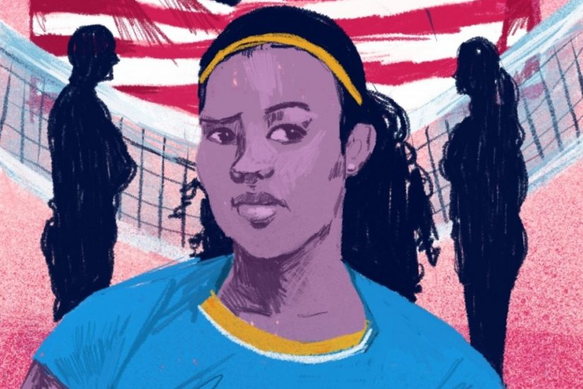 The Richmond-based illustrator Carson McNamara produced this and five other illustrations to accompany each episode of American Dissent.