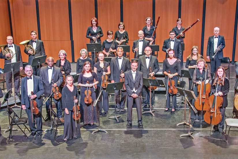 The Virginia Chamber Orchestra, David Grandis, Music Director - Image courtesy Virginia Chamber Orchestra