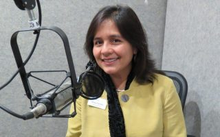 Virginia Humanities Board Member Dulce Carrillo - Photo by Jeanne Siler