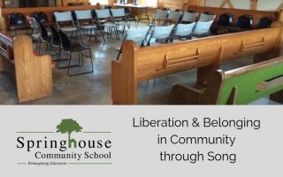 Liberation & Belonging in community through song - All Day Sing