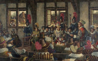 Virginia Notes: 1619 (Agecroft Hall)