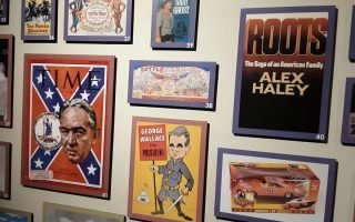 Images at the White House of the Confederacy in Richmond show the Lost Cause in politics and popular culture. (Rex Springston/ For the Virginia Mercury)