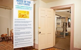 Lost Cause Exhibit courtesy the American Civil War Museum.
